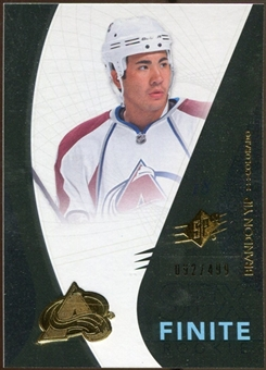 2010/11 Upper Deck SPx Finite Rookies #F9 Brandon Yip /499
