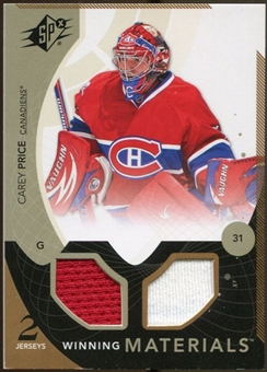 2010/11 Upper Deck SPx Winning Materials #WMCP Carey Price
