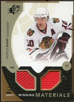 2010/11 Upper Deck SPx Winning Materials #WMPS Patrick Sharp