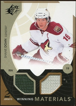 2010/11 Upper Deck SPx Winning Materials #WMSD Shane Doan