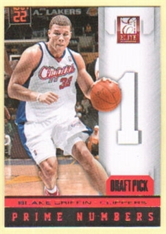 2012/13 Panini Elite Prime Numbers #1 Blake Griffin