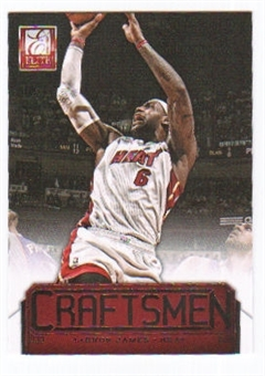 2012/13 Panini Elite Craftsmen #6 LeBron James