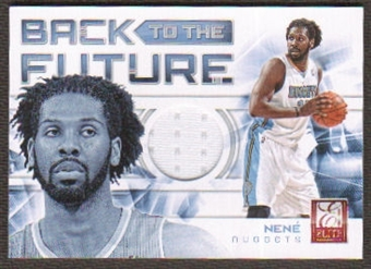 2012/13 Panini Elite Back to the Future Materials #16 Nene