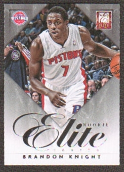 2012/13 Panini Elite Series Rookies #14 Brandon Knight