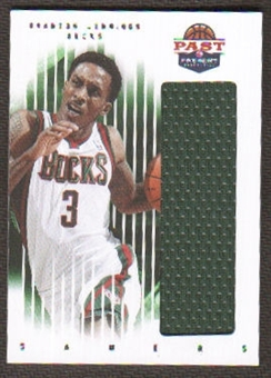 2011/12 Panini Past and Present Gamers Jerseys #15 Brandon Jennings