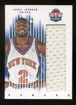 2011/12 Panini Past and Present Gamers Jerseys #51 Larry Johnson