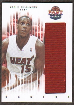 2011/12 Panini Past and Present Gamers Jerseys #58 Mario Chalmers