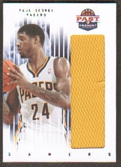 2011/12 Panini Past and Present Gamers Jerseys #64 Paul George