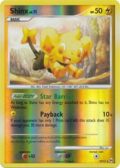 Pokemon Arceus Single Shinx SH12 - Reverse Holo
