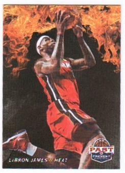 2011/12 Panini Past and Present Fireworks #2 LeBron James