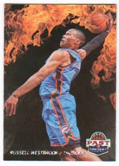 2011/12 Panini Past and Present Fireworks #15 Russell Westbrook