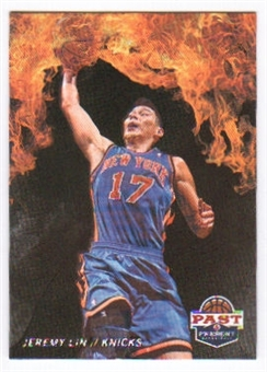 2011/12 Panini Past and Present Fireworks #18 Jeremy Lin