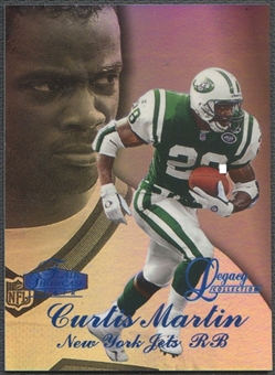 1998 Flair Showcase #44 Curtis Martin Legacy Collection Row 3 #032/100