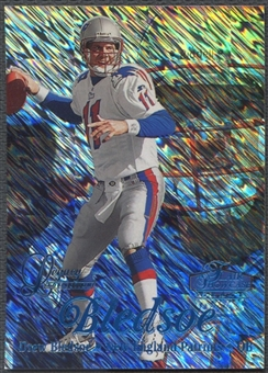 1998 Flair Showcase #11 Drew Bledsoe Legacy Collection Row 1 #081/100