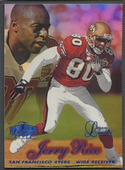 1998 Flair Showcase #6 Jerry Rice Legacy Collection Row 2 #096/100