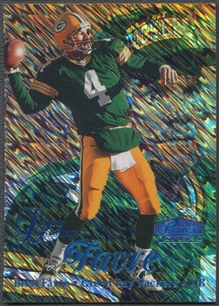 1998 Flair Showcase #1 Brett Favre Legacy Collection Row 1 #027/100