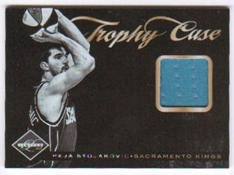 2011/12 Panini Limited Trophy Case Materials #41 Peja Stojakovic /99