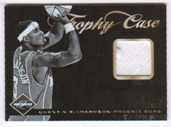 2011/12 Panini Limited Trophy Case Materials #42 Quentin Richardson /99