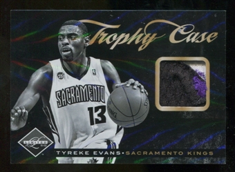 2011/12 Panini Limited Trophy Case Materials Prime #18 Tyreke Evans /25