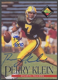 1994 Pro Line Live #73 Perry Klein Auto #0490/1000