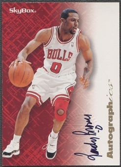 1996/97 SkyBox Premium #11 Randy Brown Autographics Auto