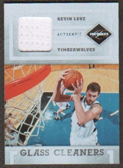 2011/12 Panini Limited Glass Cleaners Materials #5 Kevin Love /99