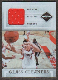 2011/12 Panini Limited Glass Cleaners Materials #15 Yao Ming /99