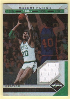 2011/12 Panini Limited Decade Dominance Materials #2 Robert Parish 58/99