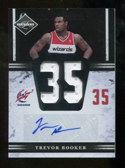 2011/12 Limited Jumbo Jersey Numbers Signatures #16 Trevor Booker Autograph /99