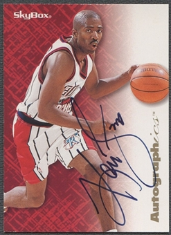 1996/97 SkyBox Premium #75 Kenny Smith Autographics Auto