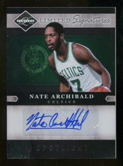 2011/12 Limited Signatures Silver Spotlight #34 Nate Archibald Autograph 21/25