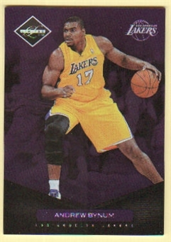 2011/12 Panini Limited #4 Andrew Bynum /299