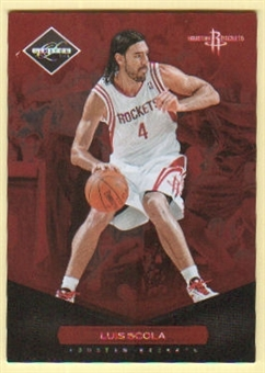 2011/12 Panini Limited #121 Luis Scola /299