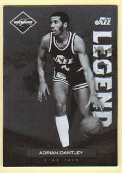 2011/12 Panini Limited #130 Adrian Dantley /299