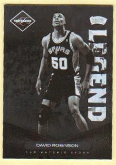2011/12 Panini Limited #170 David Robinson /299