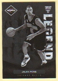 2011/12 Panini Limited #194 Jalen Rose /299