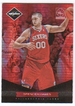 2011/12 Panini Limited Silver Spotlight #87 Spencer Hawes /49