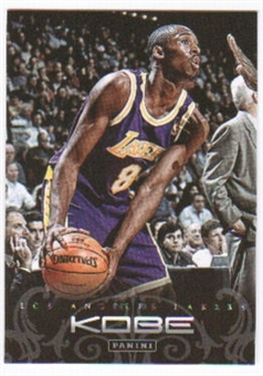 2012/13 Panini Kobe Anthology #4 Kobe Bryant