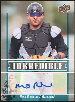 2009 Upper Deck Inkredible #MR Mike Rabelo S2 Autograph