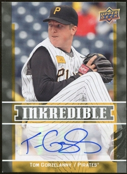 2009 Upper Deck Inkredible #TG Tom Gorzelanny S2 Autograph