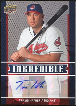 2009 Upper Deck Inkredible #TH Travis Hafner S2 Autograph