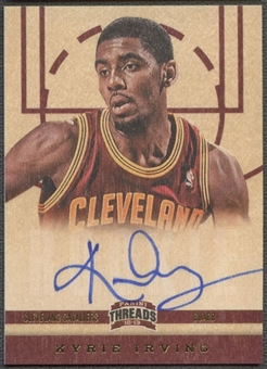 2012/13 Panini Threads #151 Kyrie Irving Rookie Auto