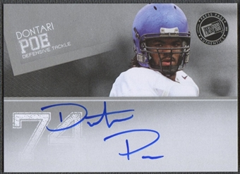 2012 Press Pass #PPSDP2 Dontari Poe Silver Auto