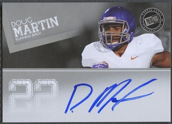 2012 Press Pass #PPSDM Doug Martin Silver Auto