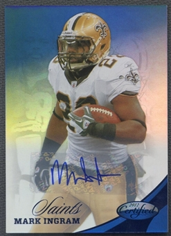 2012 Certified #114 Mark Ingram Mirror Blue Signatures Auto #18/25