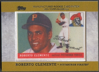 2013 Topps #RCP3 Roberto Clemente Manufactured Commemorative Rookie Patch