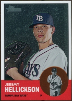 2012 Topps Heritage Chrome #HP57 Jeremy Hellickson 1367/1963