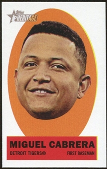 2012 Topps Heritage Stick-Ons #1 Miguel Cabrera