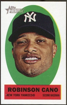 2012 Topps Heritage Stick-Ons #13 Robinson Cano