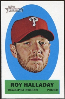 2012 Topps Heritage Stick-Ons #30 Roy Halladay
